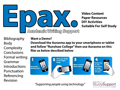Epax Flyer Used With Aurasma