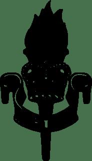 ETS Cap Badge Vector